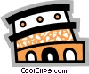 Roman Coliseum Vector Clipart illustration