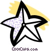 Vector Clip Art picture  of a Starfish