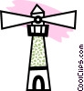 Vector Clipart illustration  of a Lighthouse