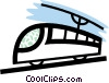 Vector Clipart illustration  of a Streetcar