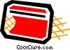 Vector Clipart illustration  of a Credit card