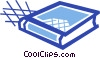 Textbook Vector Clipart picture
