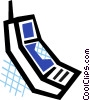 Cell phone Vector Clipart picture