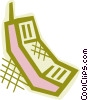 Vector Clip Art image  of a Cell phone