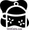 Vector Clip Art graphic  of a Large pot
