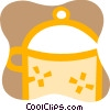 Vector Clipart picture  of a Large pot
