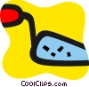 Vector Clip Art graphic  of a Trowels