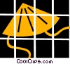 Vector Clipart image  of an Asian sun hat