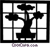 Bonsai tree Vector Clip Art picture