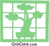 Bonsai tree Vector Clipart picture