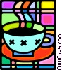 Cup of coffee Vector Clip Art image