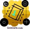 Vector Clipart picture  of a Computer chip