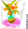 Potted plant Vector Clipart graphic