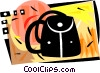 Vector Clipart picture  of a Back pack