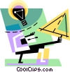 Vector Clipart picture  of a Idea Concepts