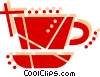 Vector Clipart graphic  of a Cup of tea