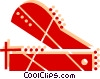 Vector Clipart picture  of a Paper cutter
