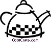 Vector Clip Art picture  of a Boiling kettle