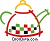 Vector Clipart graphic  of a Boiling kettle