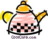 Boiling kettle Vector Clipart illustration