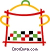Large pot Vector Clip Art picture