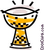Vector Clip Art image  of a Miscellaneous Drums