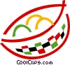 Vector Clipart illustration  of a Fruit Bowl