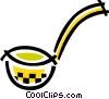 Vector Clipart illustration  of a Soup Ladle