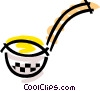Vector Clipart image  of a Soup Ladle