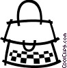 Handbags Purses Vector Clipart illustration