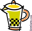 Vector Clip Art image  of a Orange Juice