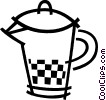 Juice jug Vector Clip Art graphic