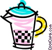 Juice jug Vector Clipart picture