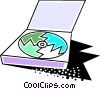 Cd-rom Vector Clipart graphic