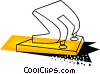Hole puncher Vector Clip Art picture