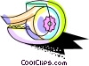 Colorful masking tape Vector Clipart picture