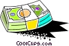 Vector Clipart illustration  of a Colorful money