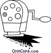 Vector Clipart graphic  of a Pencil sharpener