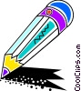 Colorful pencil Vector Clip Art picture