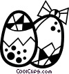 Easter eggs Vector Clip Art picture