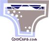 Bikini underwear Vector Clip Art image