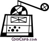 Coffee grinder Vector Clipart illustration
