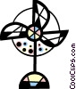 Vector Clipart image  of a Electric fan