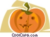 Vector Clip Art picture  of a Jack-O-Lantern