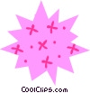 Vector Clipart illustration  of a Star