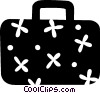 Vector Clipart picture  of a Suitcase