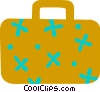 Vector Clipart illustration  of a Suitcase