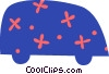 Vector Clip Art graphic  of a Family minivan