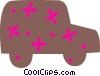 Sport utility vehicle Vector Clipart image