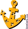 Ship anchor Vector Clipart graphic